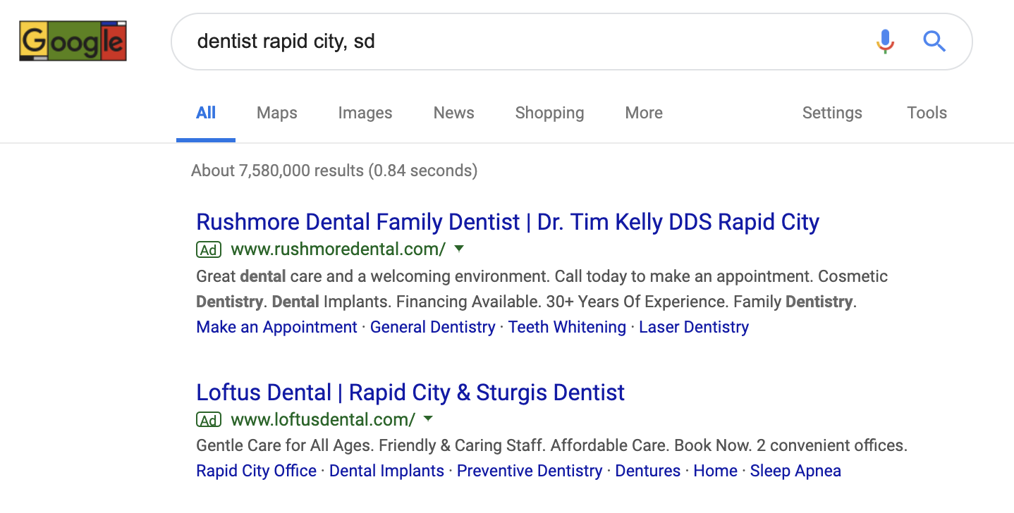 Google Ads Search Management