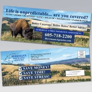 Herrmann Insurance Agencies Residential Direct Mail - Dot Marketing and Website Design