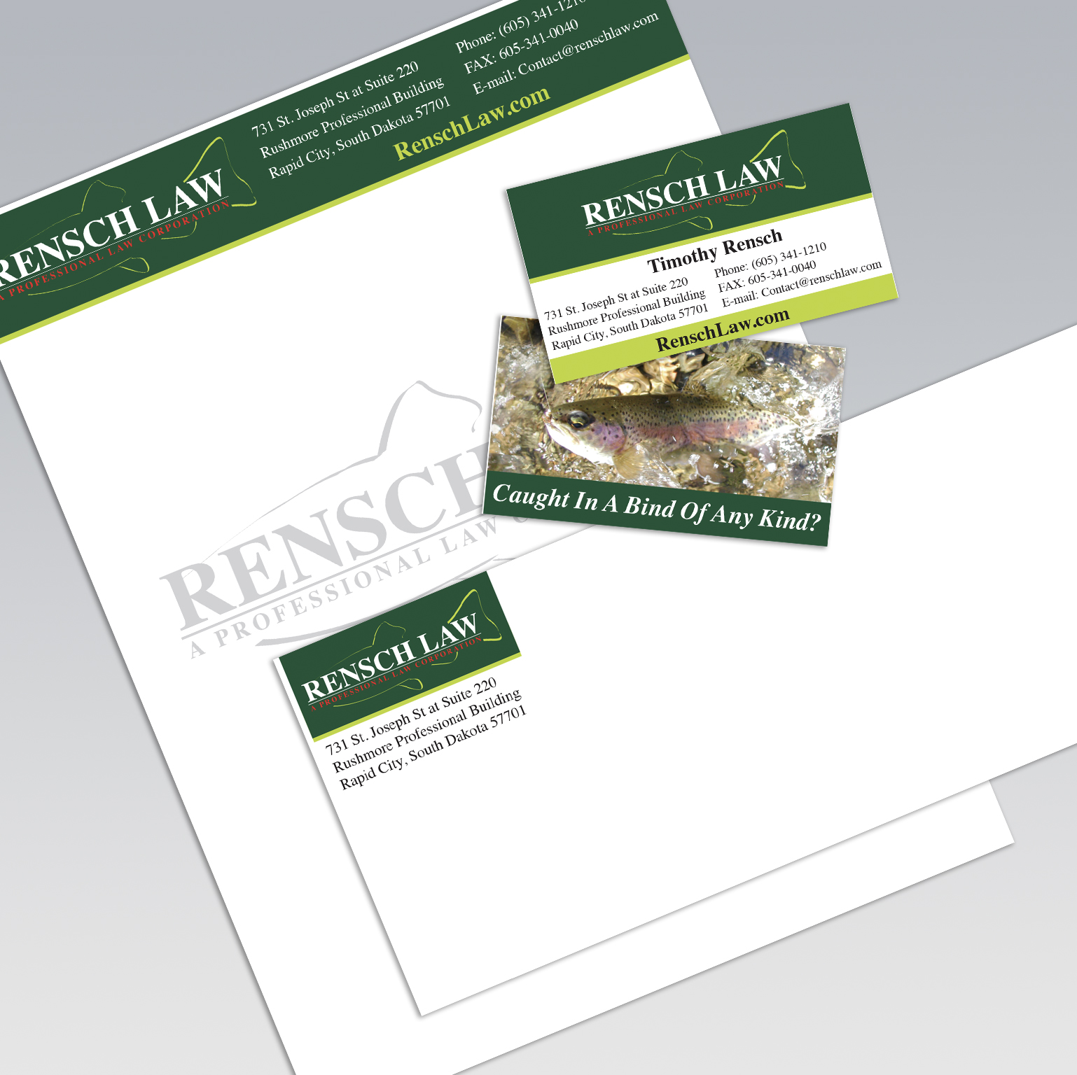 Rensch Law Branding - Dot Marketing and Website Design