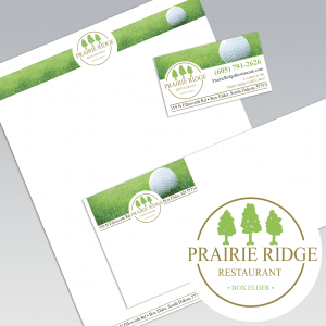 Dot Marketing and Design - Gallery - Logo Design and Branding - Prairie Ridge Restaurant