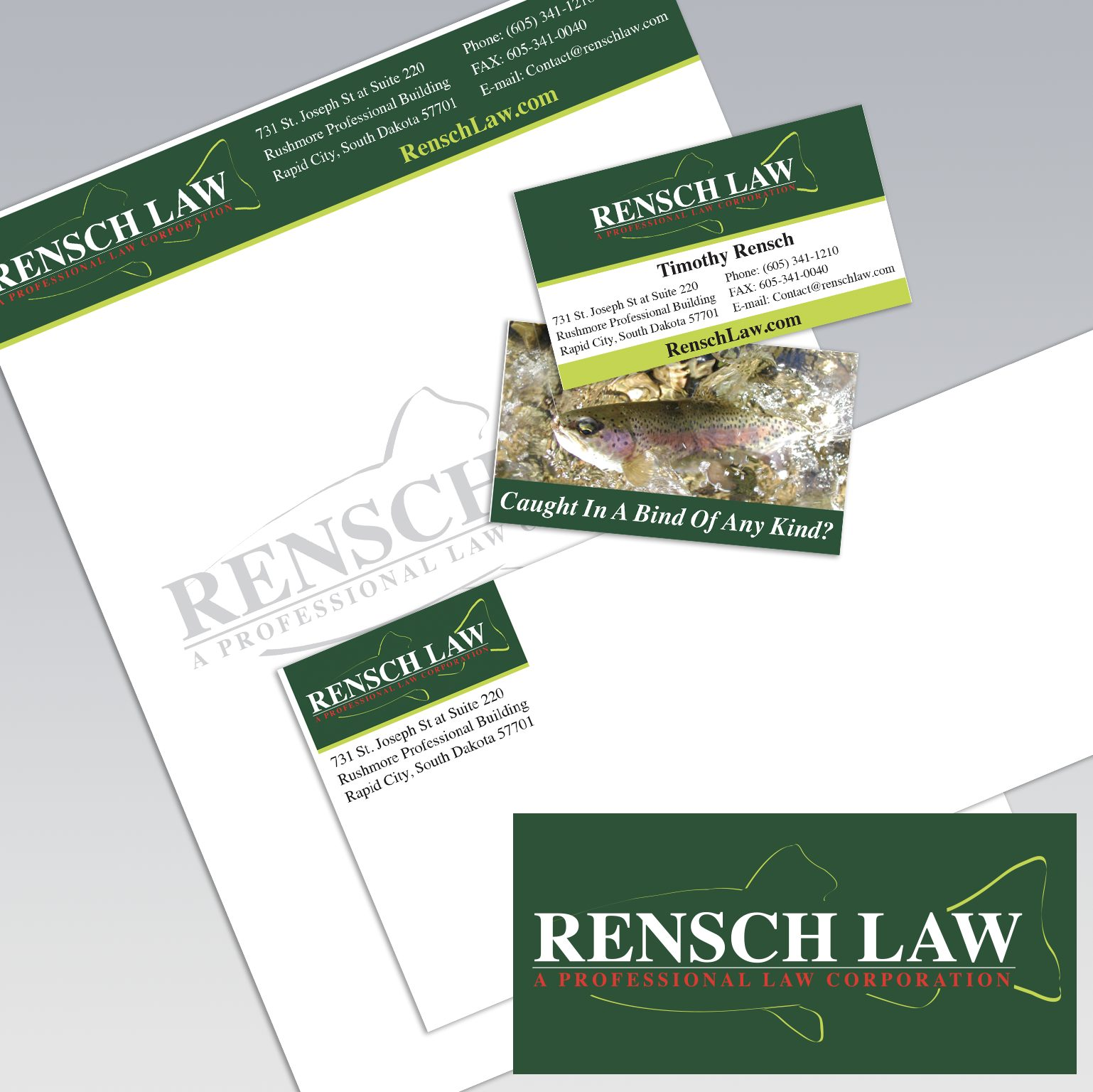 Dot Marketing and Design - Gallery - Logo Design and Branding - Rensch Law