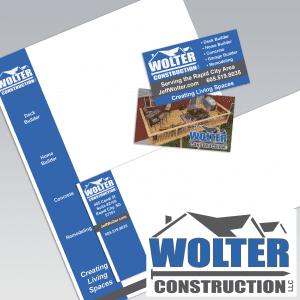 Dot Marketing and Design - Gallery - Logo Design and Branding - Wolter Construction
