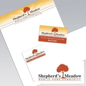 Dot Marketing and Design - Gallery - Logo Design and Branding - Shepherd's Meadow