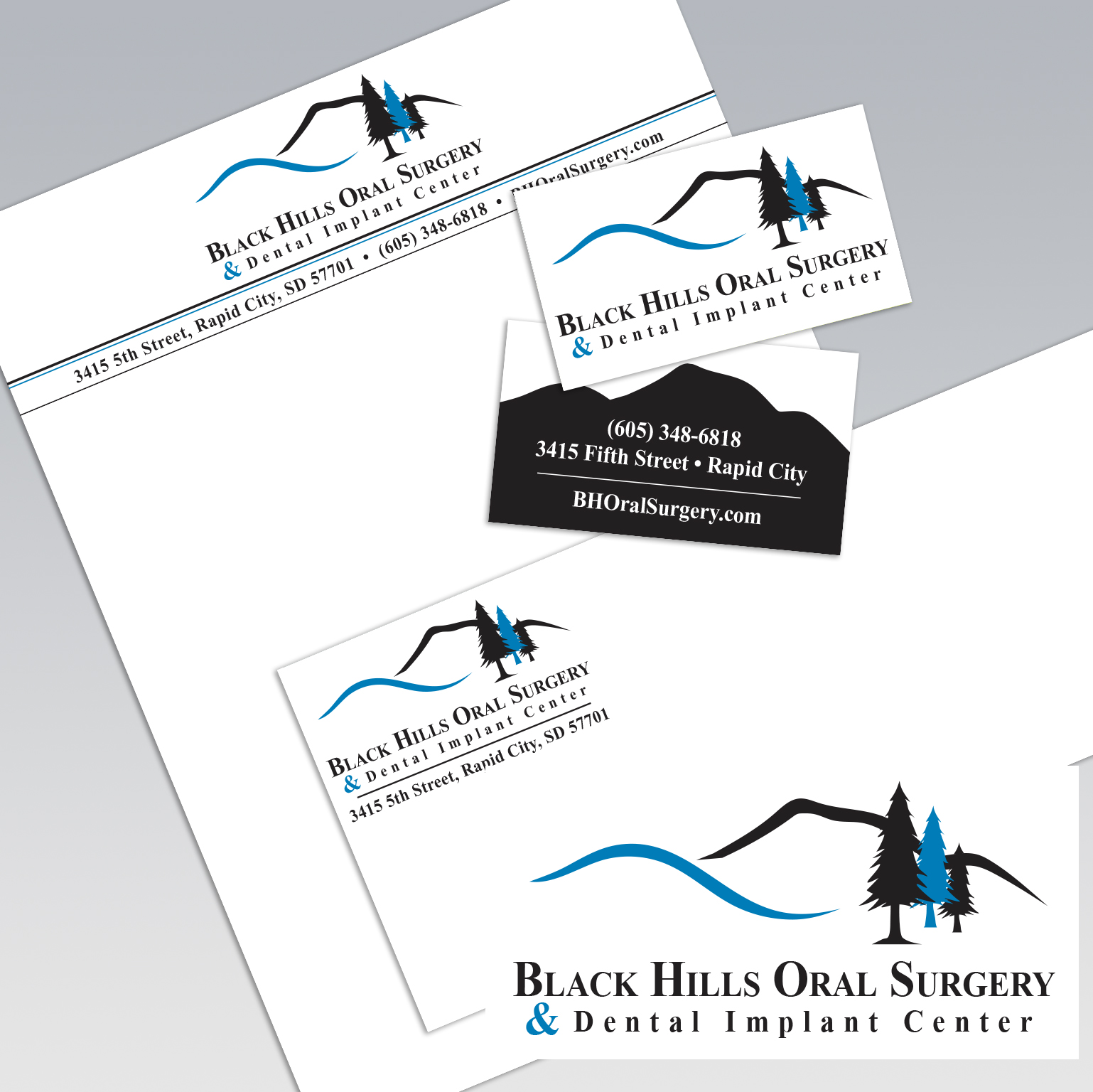 Dot Marketing and Design - Gallery - Logo Design and Branding - Black Hills Oral Surgery