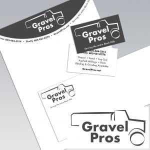 Dot Marketing and Design - Gallery - Logo Design and Branding - Gravel Pros